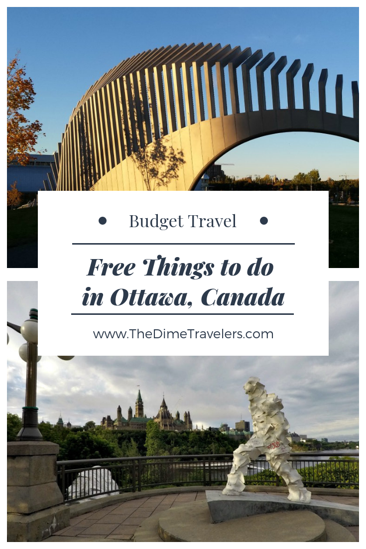 8 Free Things to do in Downtown Ottawa - The Dime Travelers