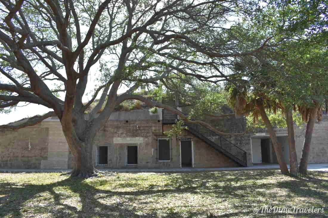 Fort De Soto with trees