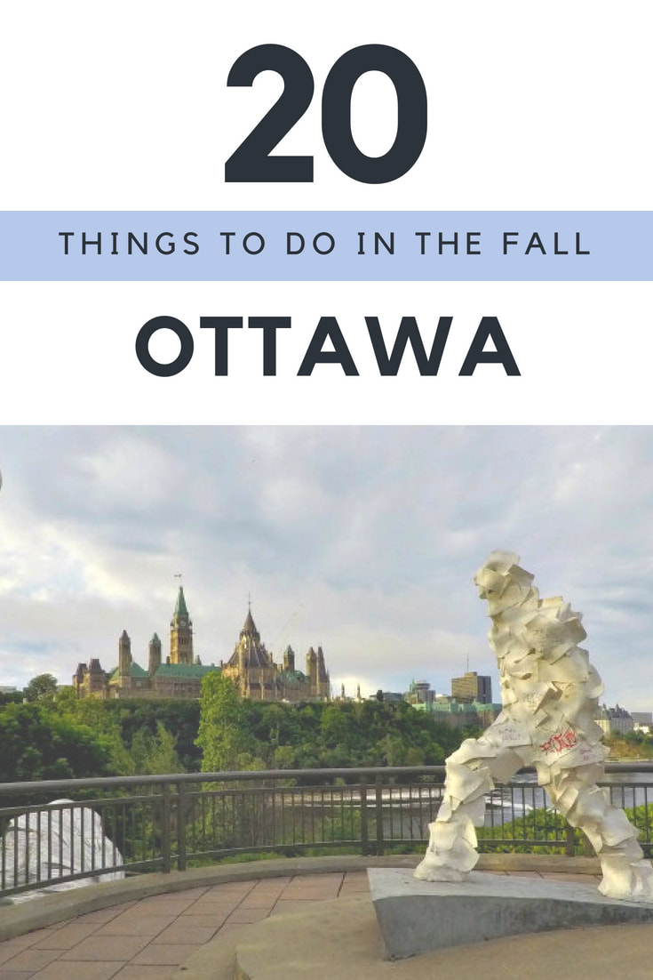 Travel Ottawa - 20 Things to do in the Fall