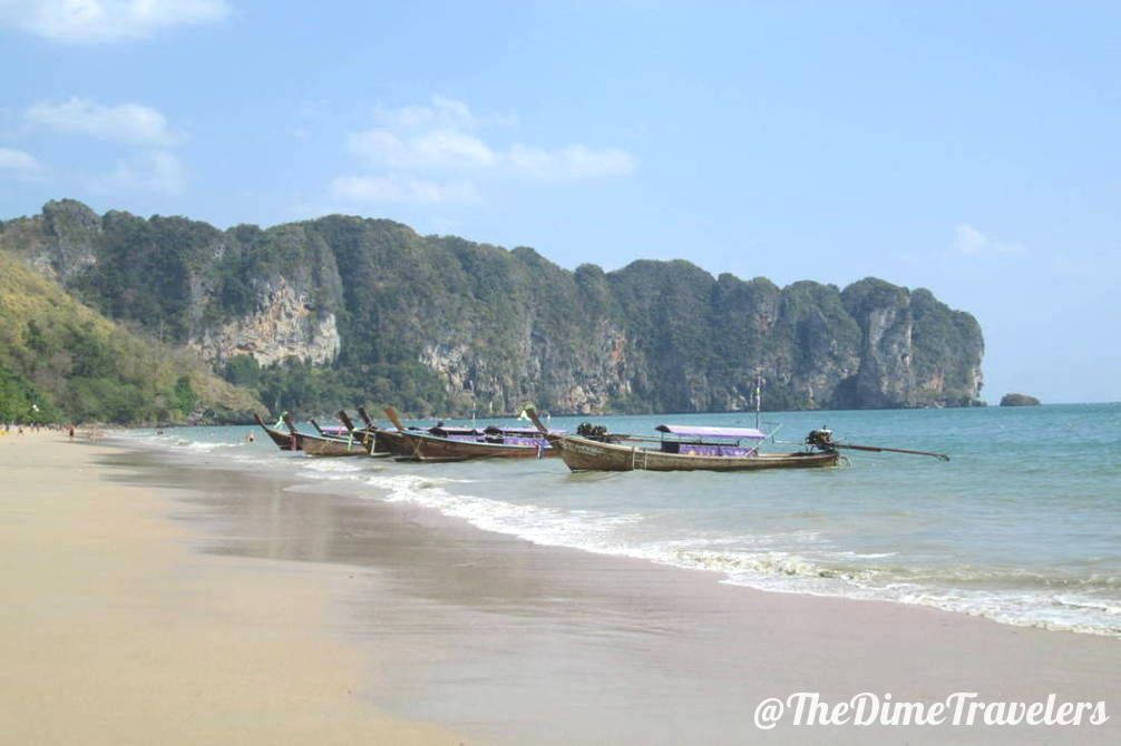Longtail Boats in Koh Tao Thailand