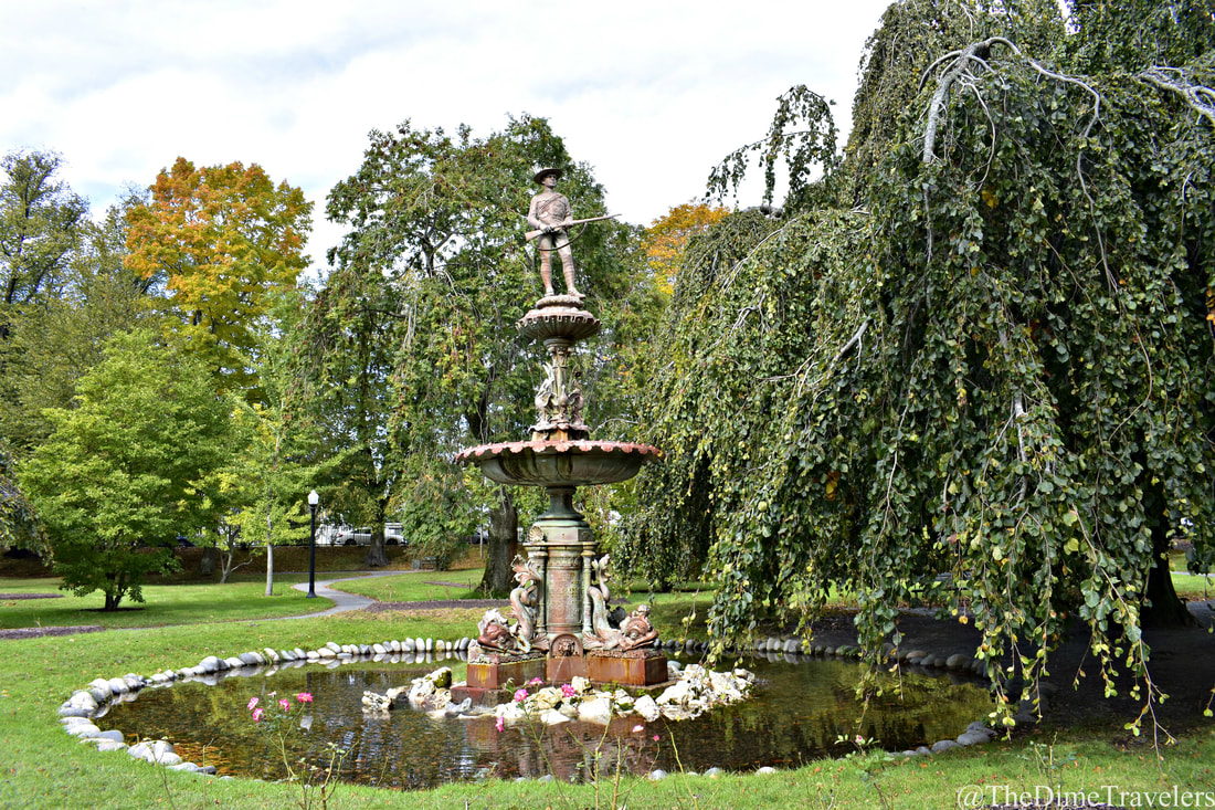 Guide to Halifax things to do for free or cheap.  #HalifaxPublicGardens #Halifax #NovaScotia