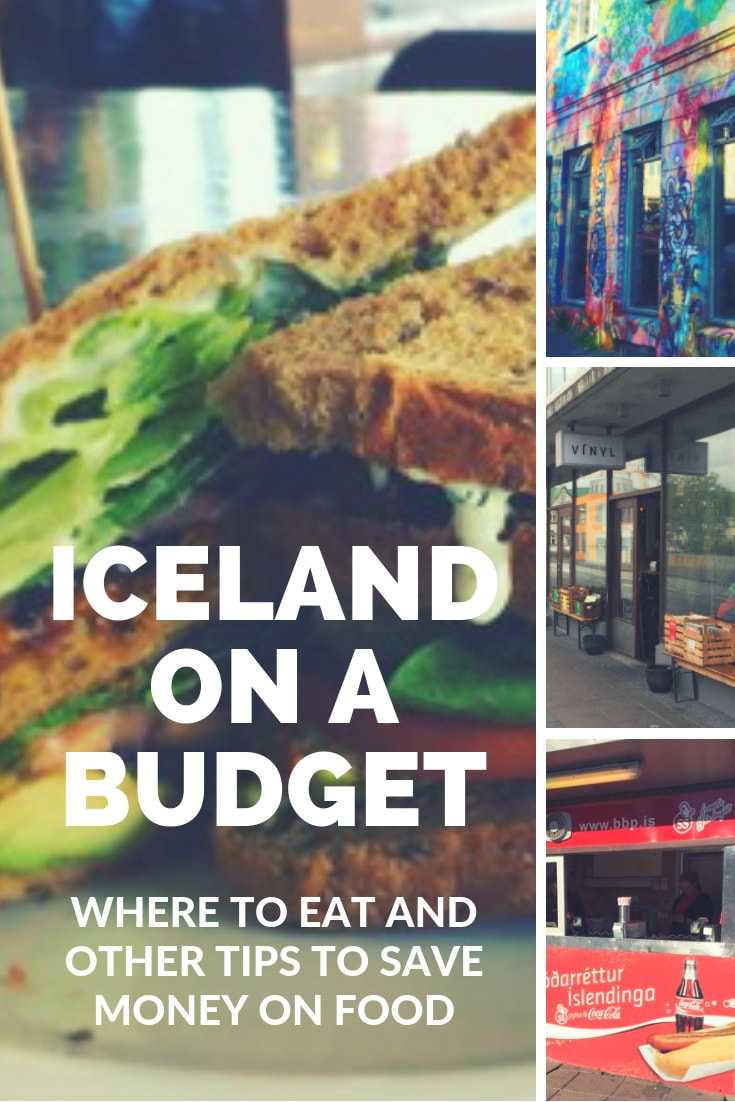 Iceland on a budget - Where to Eat and other tips to save money on food
