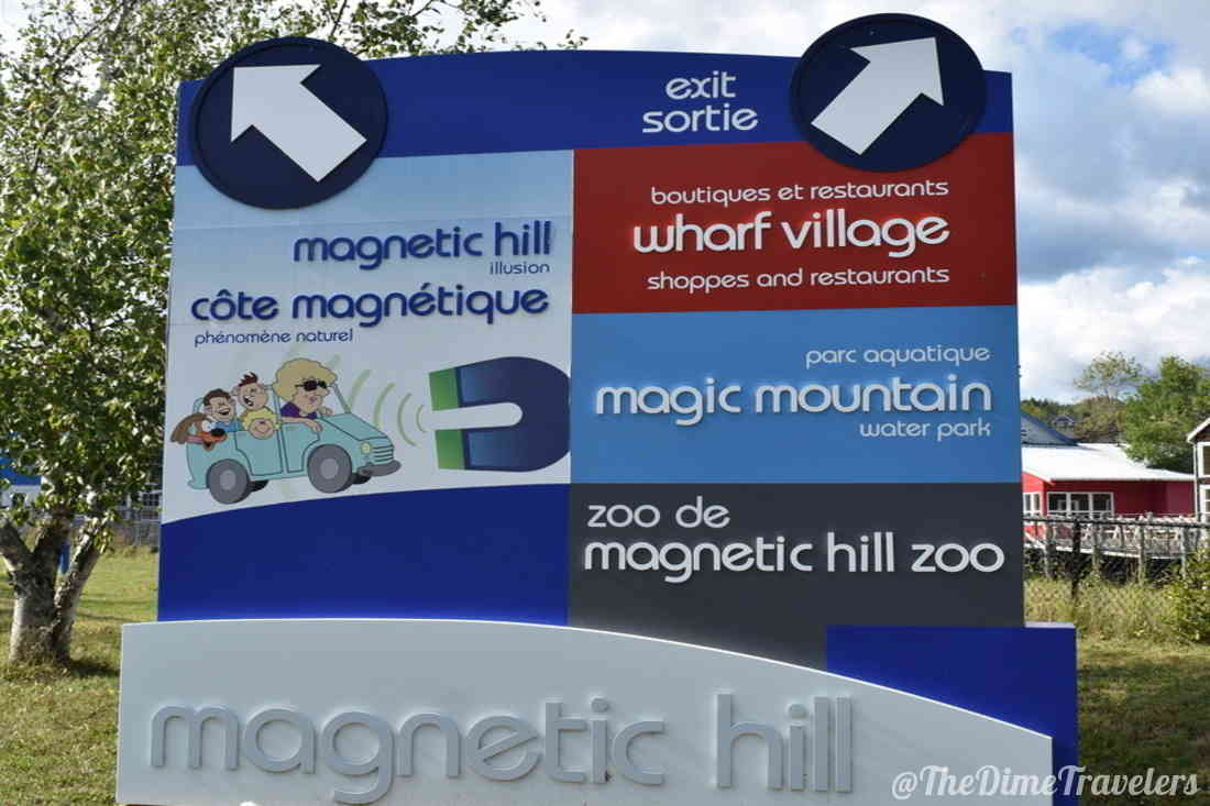 Magnetic Hill Zoo Sign