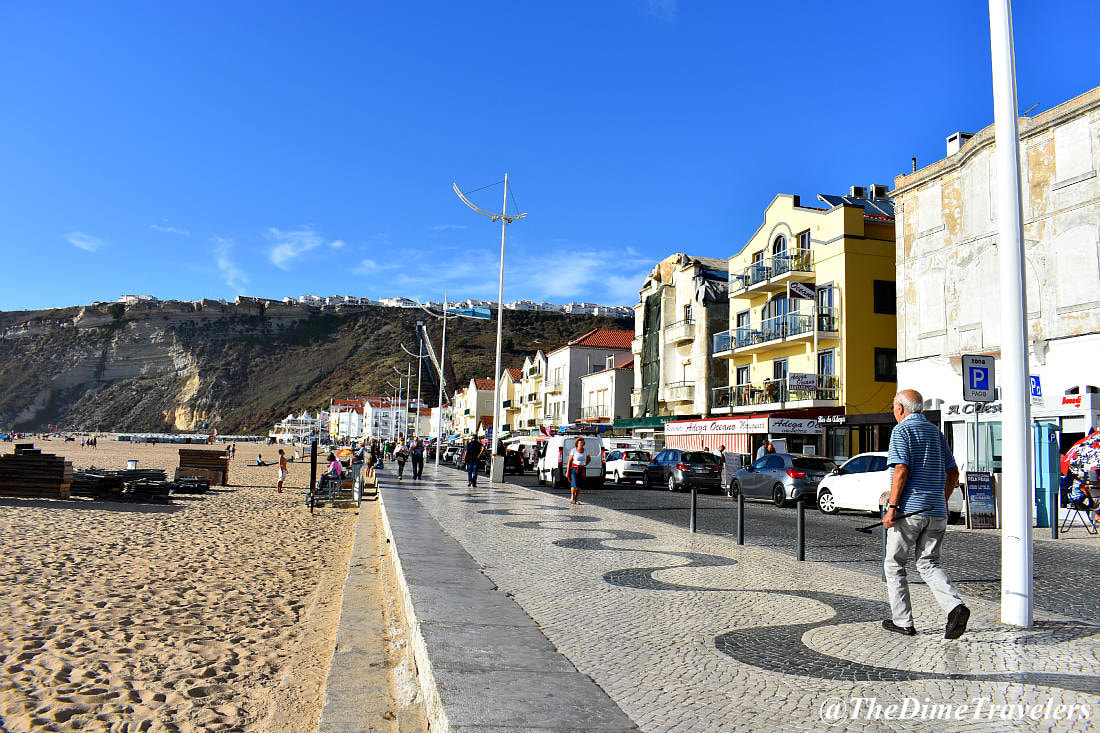 Things you should know before renting a car in Portugal, Beachside town of Nazaré