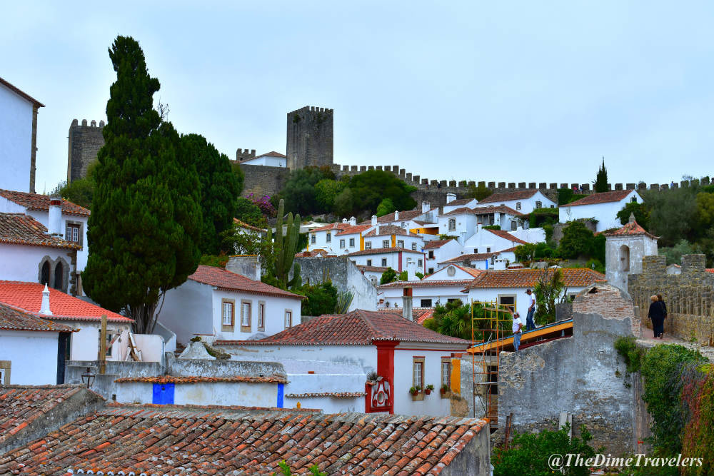 Things you should know before renting a car in Portugal, Obidos