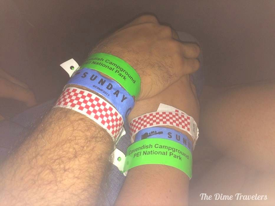 Cavendish Beach Music Festival Bracelets