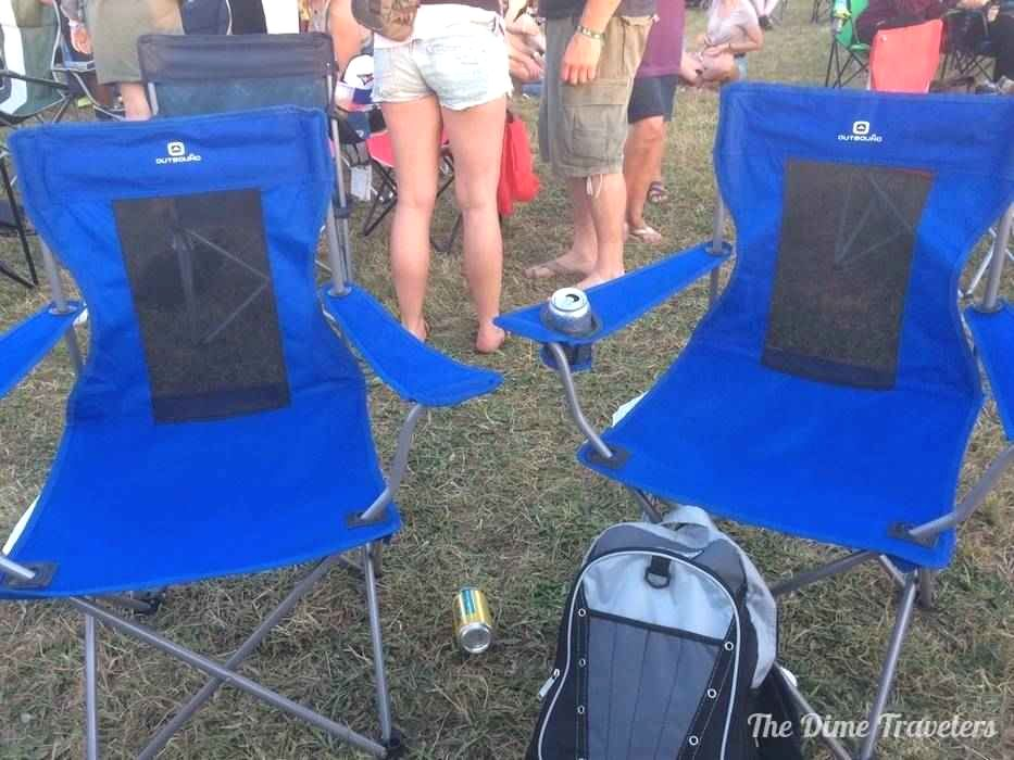 Cavendish Beach Music Festival Chairs