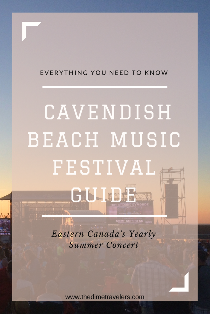 The Ultimate Cavendish Beach Music Festival: Everything You Need To Know. Located in Eastern Canada, PEI's best summer concert is a great event! A must check out for country music lovers, read this for everything you need to know, along with tips and tricks, to take full advantage of this summer time concert!      #Concert #PrinceEdwardIsland #Canada #Summer #Country