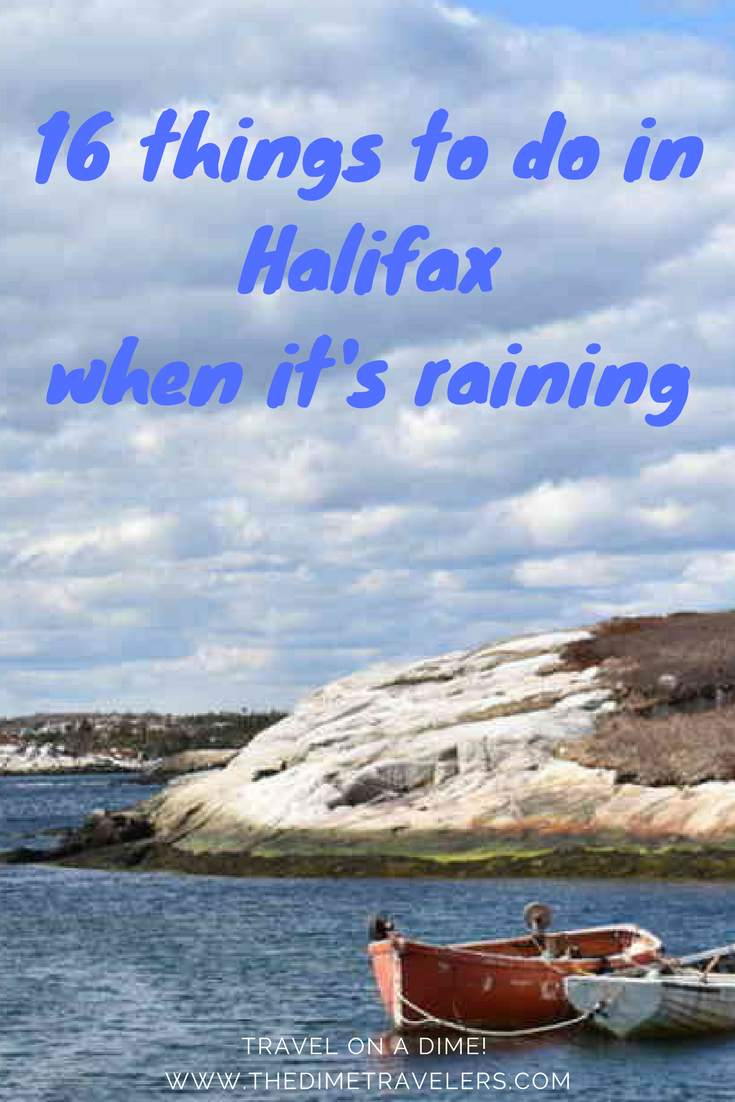 Things to do in Halifax when it's raining