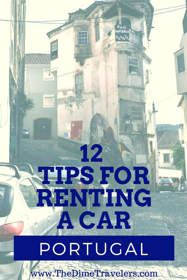 12 tips to renting a car in Portugal